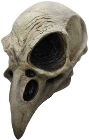 Slipknot Halloween Masks For Sale by Crow Skull Latex Mask Animal Skeleton Mask Halloween Ghoulish