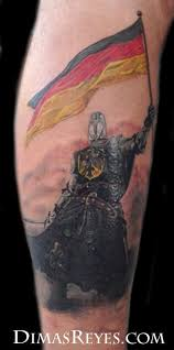 Germanic Warrior Tattoos Ancient