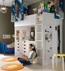 tiny box room ikea stuva loft bed making the most of small