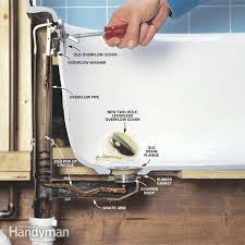Tips Unclogging A Bathtub Drain by How To Convert Bathtub Drain Lever To A Lift And Turn Drain