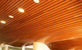 100 Wood On Ceilings En Suspended Ceiling Strip LINEAR Rulon Company