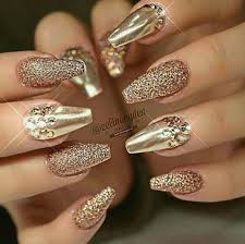 Nails Simple Nail Designs Gold Design For A Playful Summer Nails