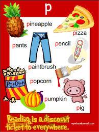 FREE Printable p Phonics Poster Phonics Pinterest