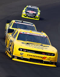 Sam Hornish Jr. And Joey Logano Photos Photos - Alliance Truck Parts ...