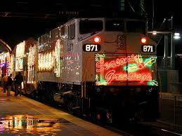 Go Metro to holiday lights in L A starting at Union Station