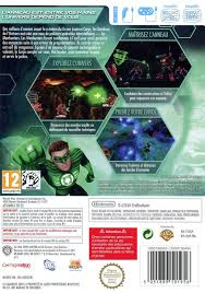 green lantern rise of the manhunters box for wii gamefaqs