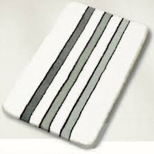 Bathroom Rug Design Ideas by Interesting Striped Bath Rug Bathroom Decor Ideas Bath Rugs Shower