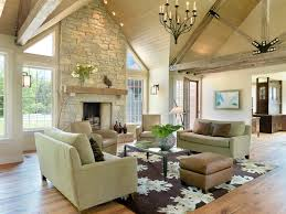Rustic Contemporary Contemporary Living Room St Louis by