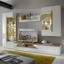 Anbauwand Wohnzimmer Mã Bel Hier Findest Du Wunderschöne Wohnwände In Weiß Eiche Braun