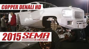 Copper Plated Custom GMC Denali HD Truck Build At 2015 SEMA Show ... Gmc Sierra All Terrain Hd Concept Future Concepts Truck Trend Chevy Dealer Keeping The Classic Pickup Look Alive With This An 1100hp Lml Duramax 3500hd Built In Tribute To A Son Time Lapse Build 2016 Denali Dually Youtube Wyatts Custom Farm Toys Chevygmc Telephone Build 72 Performancetrucksnet Forums Gm Will Electric Motors Inhouse On Upcoming Hybrids 2017 Ultimate Not A But Will End Up Being Slow Rebuild Of My 2013 2500 Truckcar Eisenhower 59 Apache On S10 Frame The 1947 Present Roadster Shop Craftsman C10 Old Trucks Pinterest Rigs