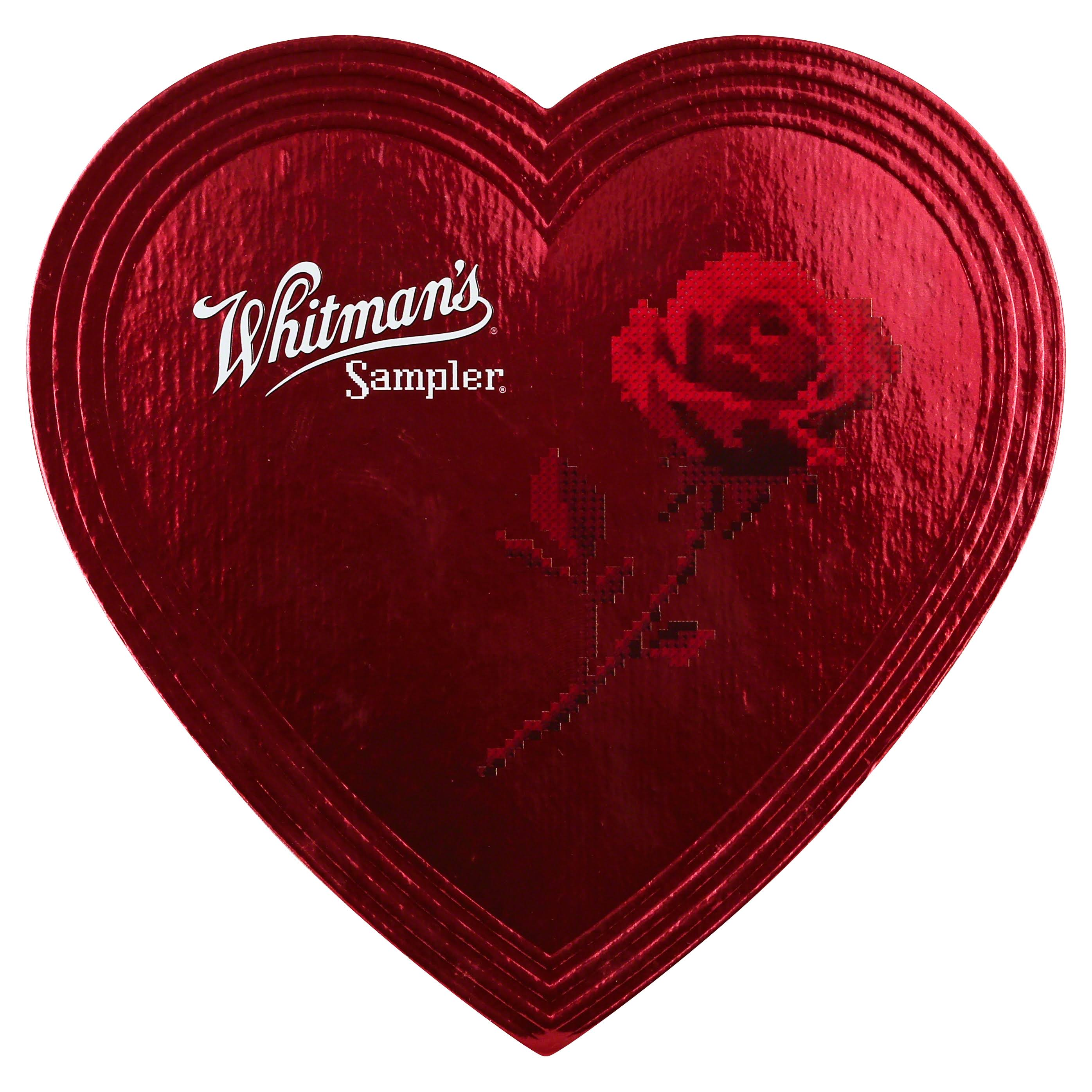 Whitman's Candies in Red Foil Heart - 3.25oz