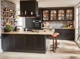 kücheninsel sylt in lack schwarz matt brauckhoff küchen