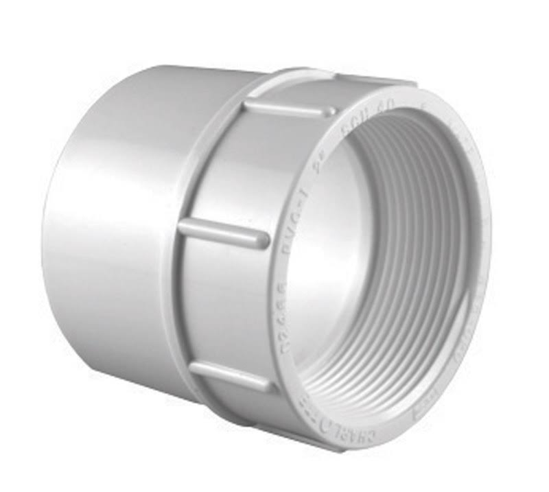 "Charlotte Pipe PVC Reducing Adapter - 3/4"" x 1/2"""