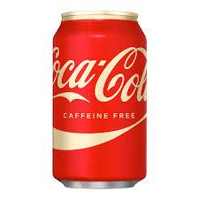 Coca Cola Caffeine Free 12oz 355ml Can