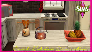 Sims 3 Ps3 Kitchen Ideas by The Sims 3 Classic Kitchen Makeover Youtube
