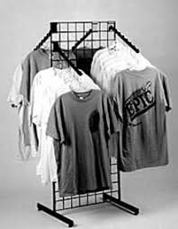 Home Grid Fixtures And Panels Tee Shirt Rack