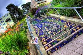 16th avenue tiled steps address the 16th avenue tiled steps project bored panda