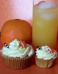 Screw Driver Vodka Cupcakes