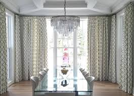 Dining Room Windows Budget Blinds Custom Drapery Panels Glamorous Ideas For Without