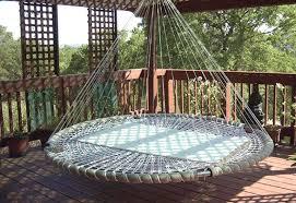 Sofa Garden Swing Seat Outdoor Porch Bed Wooden