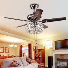 Dining Room Chandelier Ceiling Fan Warehouse Of Tiffany Angel 3 Light Crystal 5 Blade 43