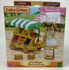 spielzeug sylvanian families calico critters fruit wagon