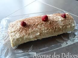 bûche chocolat blanc et framboises thermomix avenue des délices