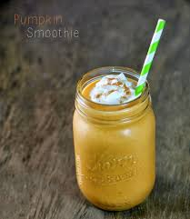 Freezing Pumpkin Puree In Glass Jars by Pumpkin Smoothie Emily Bites