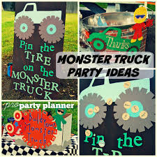 99 Monster Truck Party Favors Birthday Food Ideas