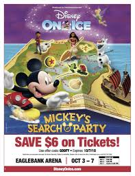 Mickey's Search Party Giveaway & Discount Code! - Mom The ... Disney On Ice Presents Worlds Of Enchament Is Skating Ticketmaster Coupon Code Disney On Ice Frozen Family Hotel Golden Screen Cinemas Promotion List 2 Free Tickets To In Salt Lake City Discount Arizona Families Code For Follow Diy Mickey Tee Any Event Phoenix Reach The Stars Happy Blog Mn Bealls Department Stores Florida Petsmart Coupons Canada November 2018 Printable Funky Polkadot Giraffe Presents