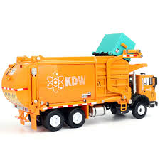 100 Waste Management Toy Garbage Truck 143 Scale Diecast S For Kids With