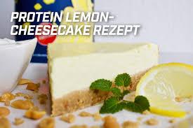 protein lemon cheesecake rezept premium sportsfood