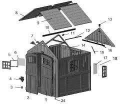 Suncast Cascade Shed Accessories by Suncast Cascade 7x7 Storage Shed Bms7790d Free Shipping
