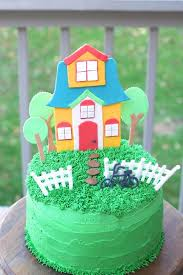 Whimsical Housewarming Cake