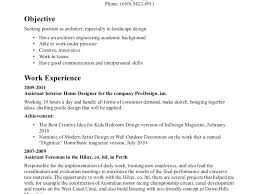 Landscape Architect Resume Design Web Sales Landscaping Owner Sample Supervisor