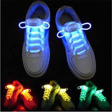cheap waterproof luminous led shoelaces fashion