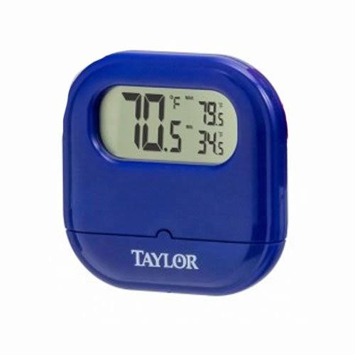 Taylor Digital Indoor / Outdoor Thermometer - Assorted 1700ast1