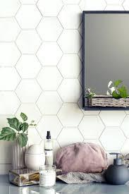 hex tile backsplash kitchen awesome kitchen ceramic tile mosaic