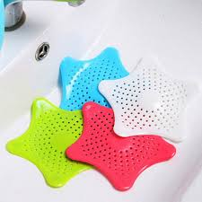 Tub Drain Strainer Replacement by Silicone Starfish Kitchen Sink Strainer Basin Shower Hair Filter
