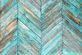 Blue Wood Texture Wall Mural