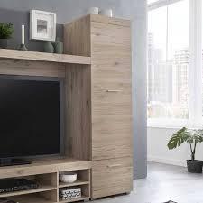 wohnzimmer anbauwand in dekor eiche lexandruv 4 teilig