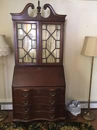 Jasper Cabinet Secretary Desk by Vintage Mahogany Ball And Claw Feet Secretary Desk Maddox