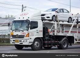 100 Truck Carrier ANI Logistics Group Carrier Trailer For Honda Car Stock