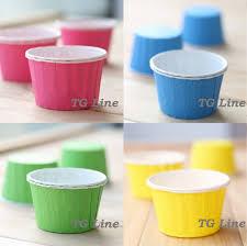 100pcs Lot Mix Color Base 5CM Large Size Muffin Cupcake Paper Cups