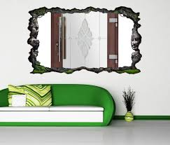 3d wandtattoo tür glastür eingang selbstklebend wandbild wandsticker wohnzimmer wand aufkleber 11o1166