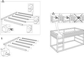 download ikea kura reversible bed 38x75 assembly instruction for