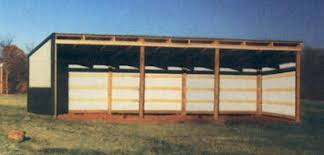 sutherlands loafing shed packages pole barn kits