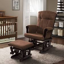 Glider Rocking Chair Cushions For Nursery by Furniture Using Comfy Walmart Glider For Charming Home Furniture