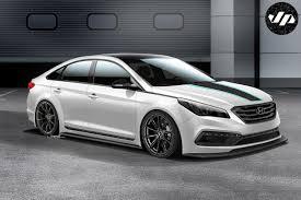 Hyundai Wants to Make Sonata Cool Again with SEMA Concept
