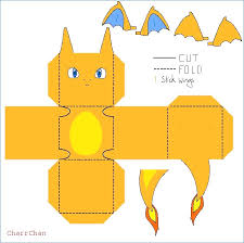 Charizard Papercraft By CharrChanviantart On DeviantArt